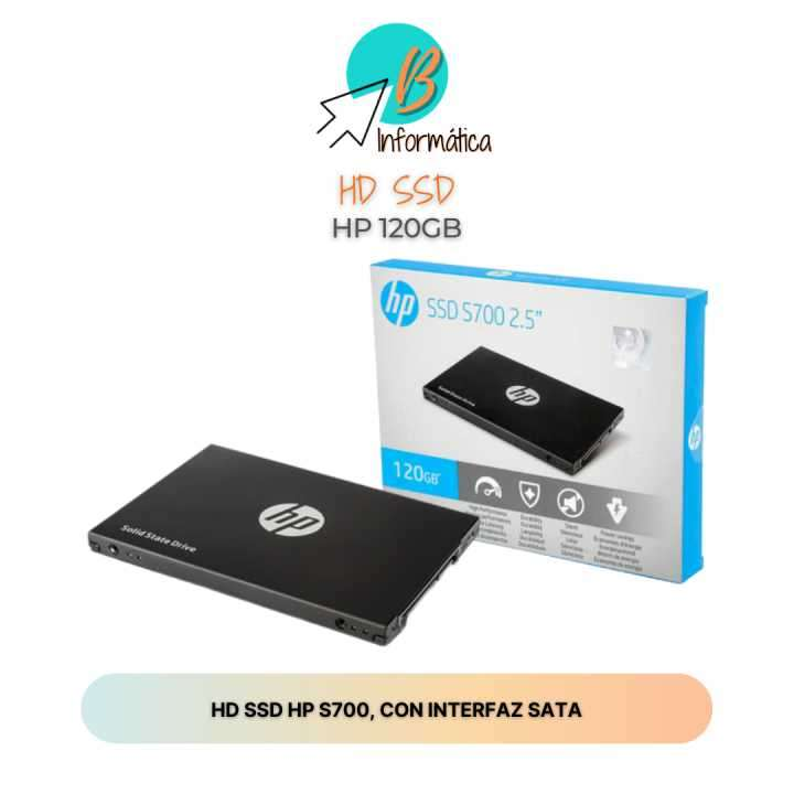 HD SSD 120GB HP - 0