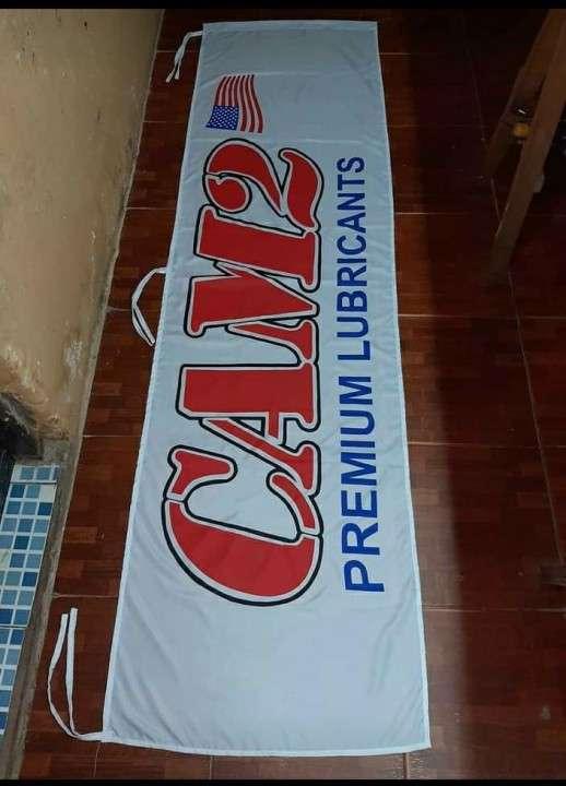 Banderas empresariales con impresión serigráfica a medida - 4
