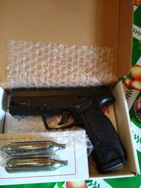 Pistola a gas Co2 calibre 4.5