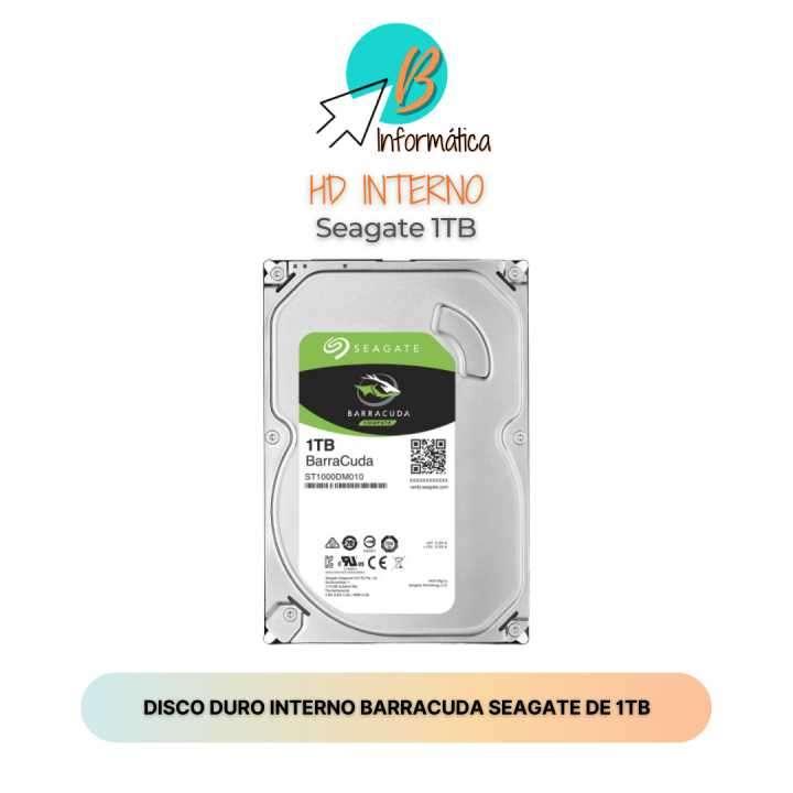 Disco duro interno HD Seagate 1TB - 0