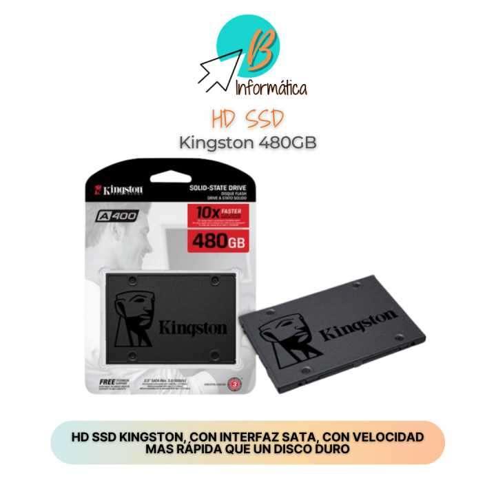HD SSD 480GB Kingston - 0