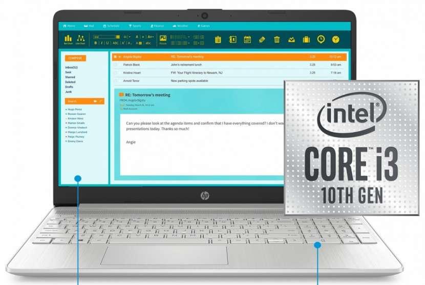 Notebook hp 15-dy1031wm intel i3-1005g1 1.2ghz/8gb/256ssd/15 - 0