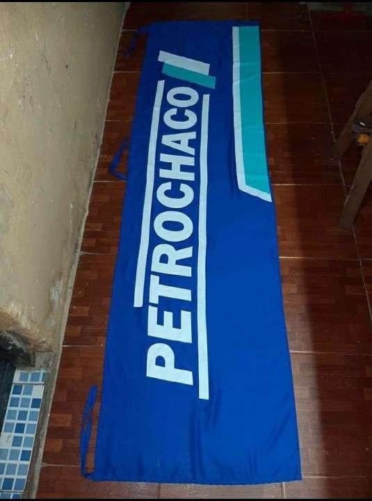 Banderas empresariales con impresión serigráfica a medida - 0