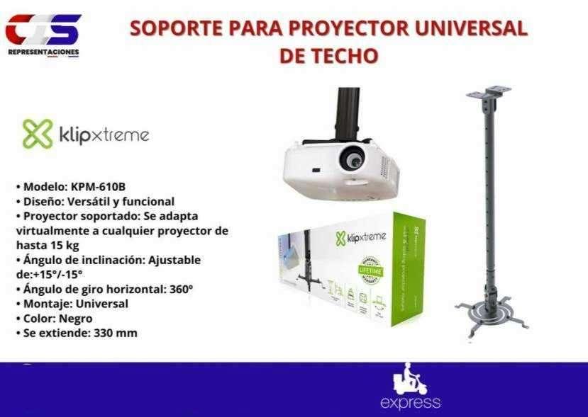 Soporte de techo para proyector universal Klip Xtreme - 0