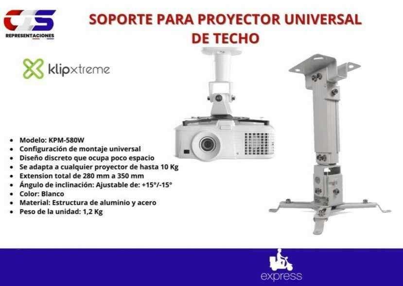Soporte para proyector universal de techo Klip Xtreme - 0