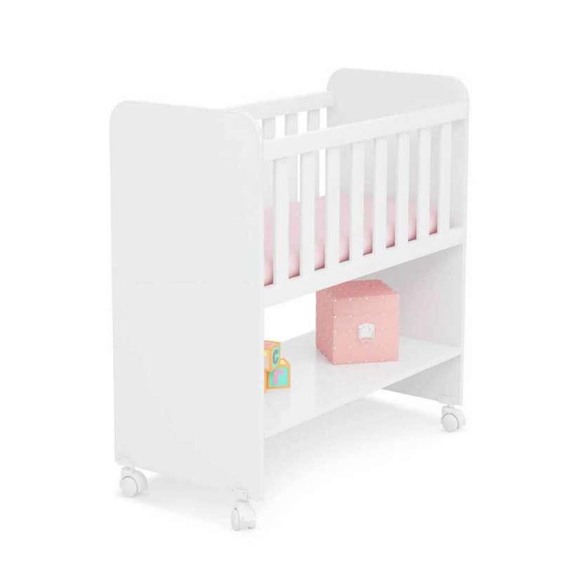 Mini cuna moises 2490 qmovi blanco (30354) - 1