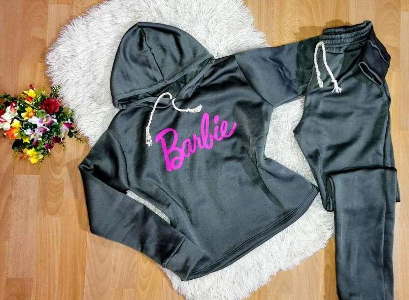 Conjuntos Barbie Moletón frizado - 0