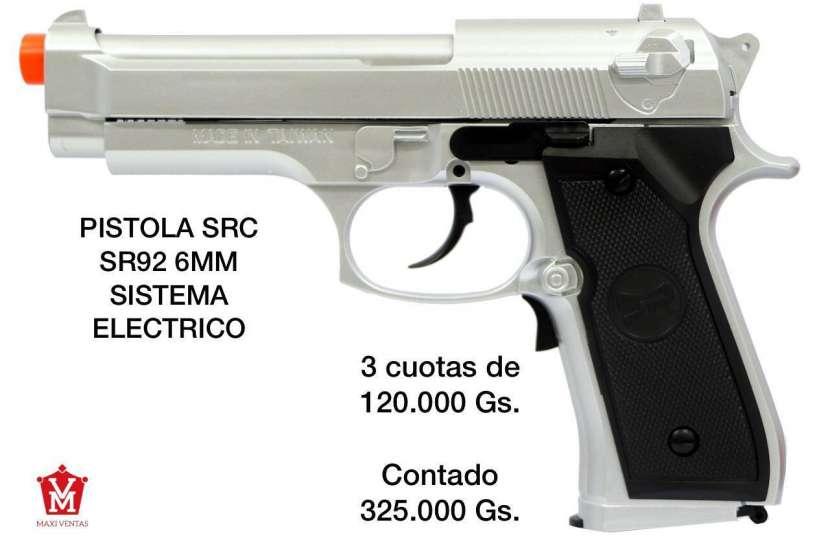Pistola airsoft SRC 6mm sistema eléctrico - 0