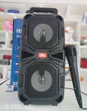 Parlante karaoke portatil