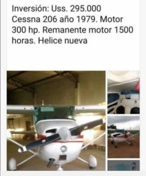 Cessna 206 1979
