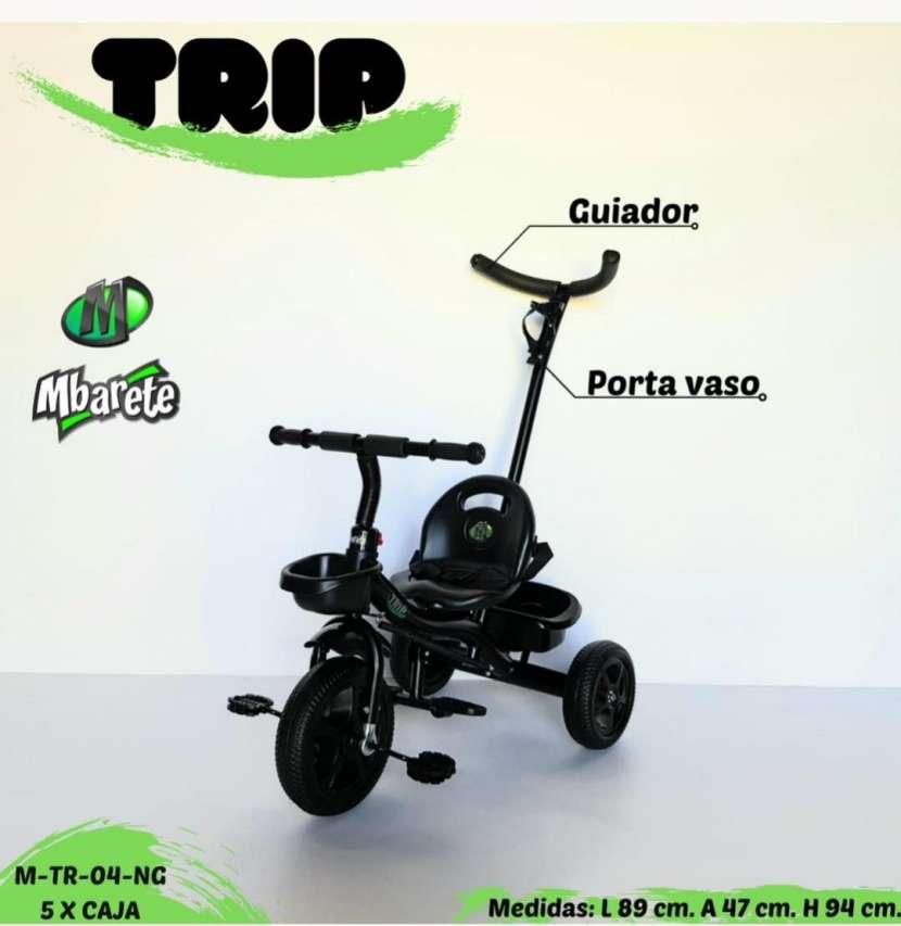 Triciclo con guiador - 1