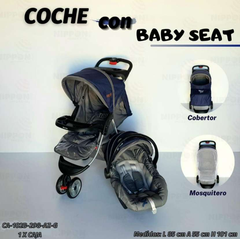 Carrito y baby seat - 1