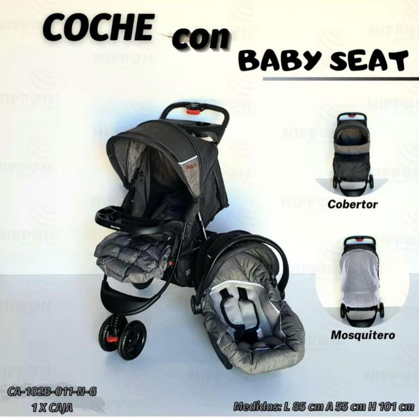 Carrito y baby seat - 2