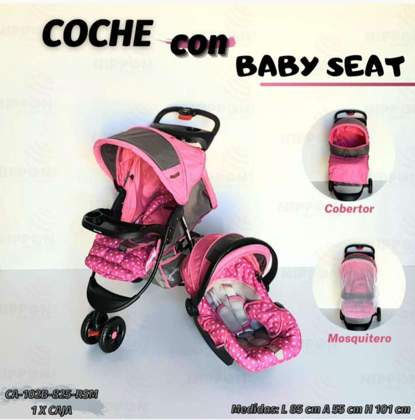 Carrito y baby seat - 3