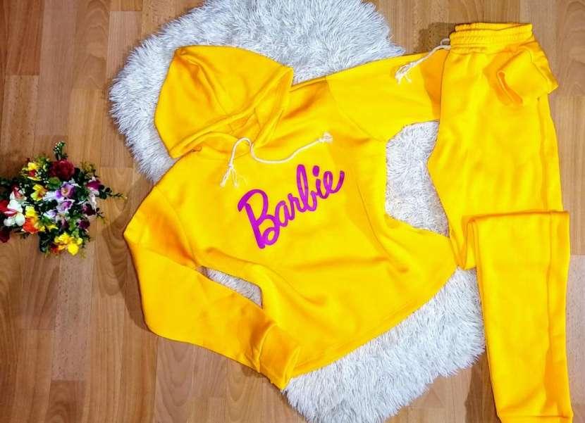 Conjuntos Barbie Moletón frizado - 3