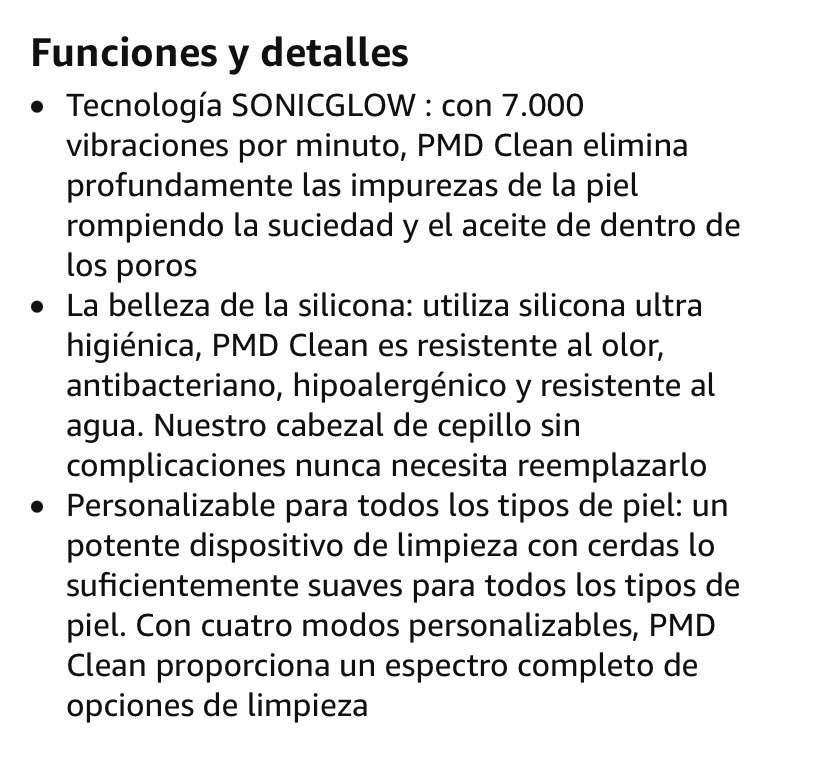 Limpiador facial - 4