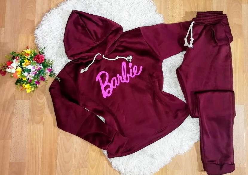Conjuntos Barbie Moletón frizado - 4