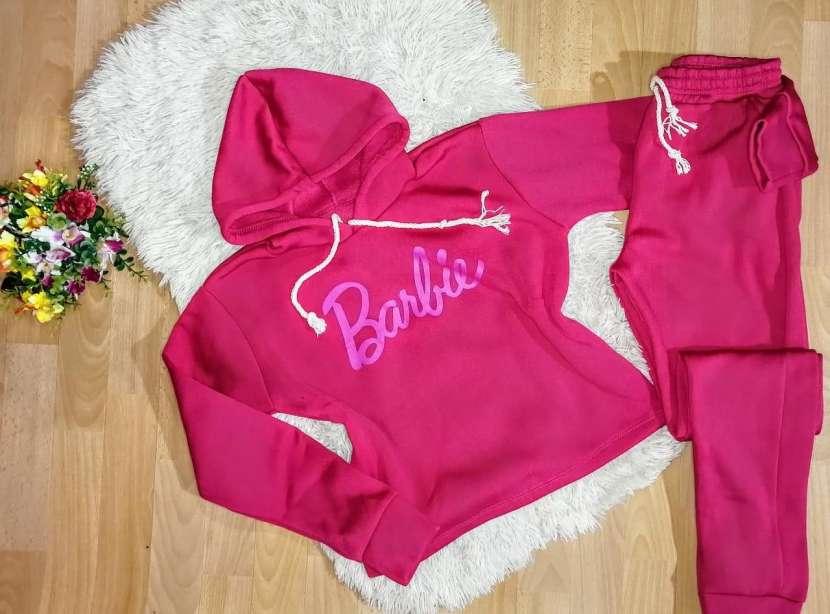 Conjuntos Barbie Moletón frizado - 5