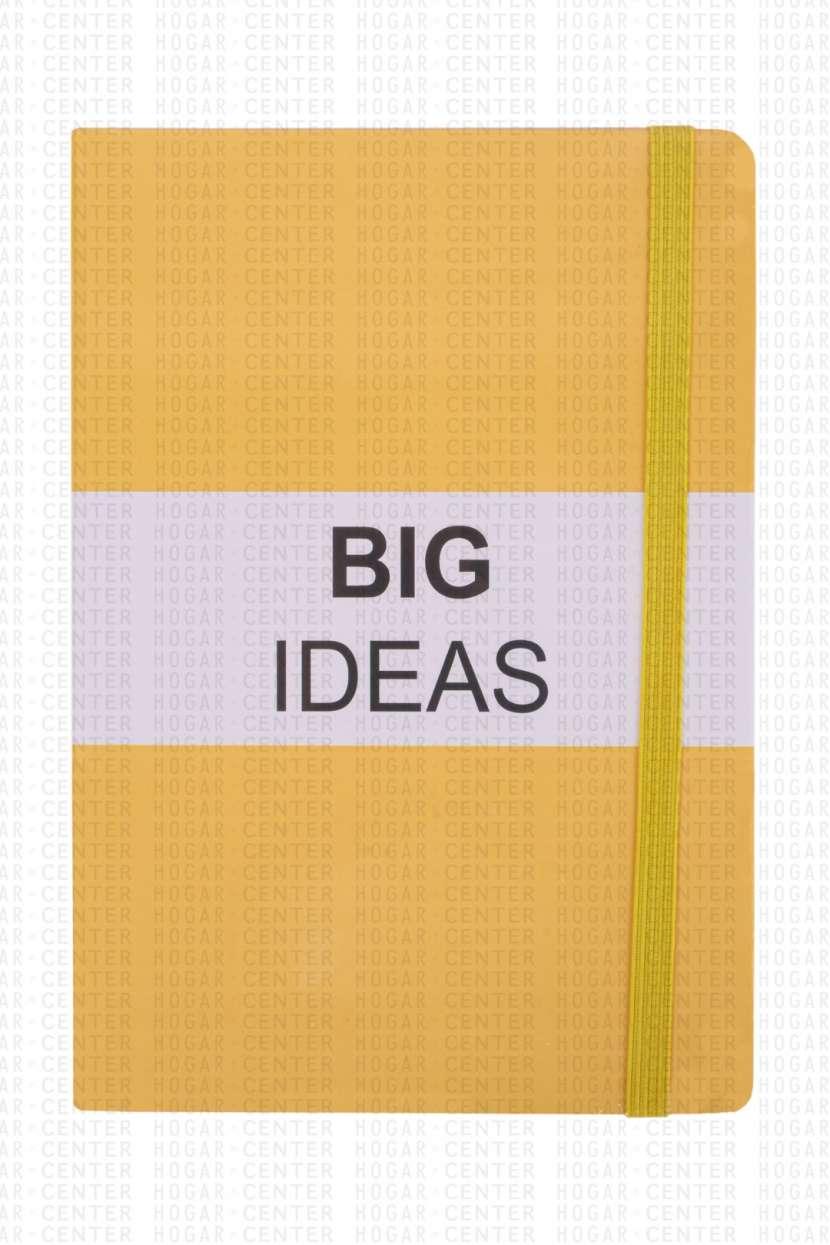 Cuaderno de tapa dura 96 hojas 15x21cm - 0