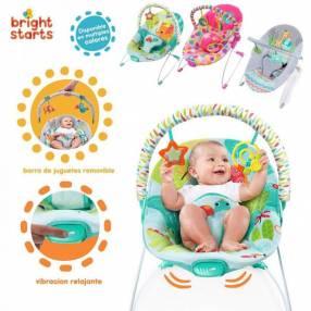 Silla mecedora para bebés de 0 a 18 Kg con vibrador