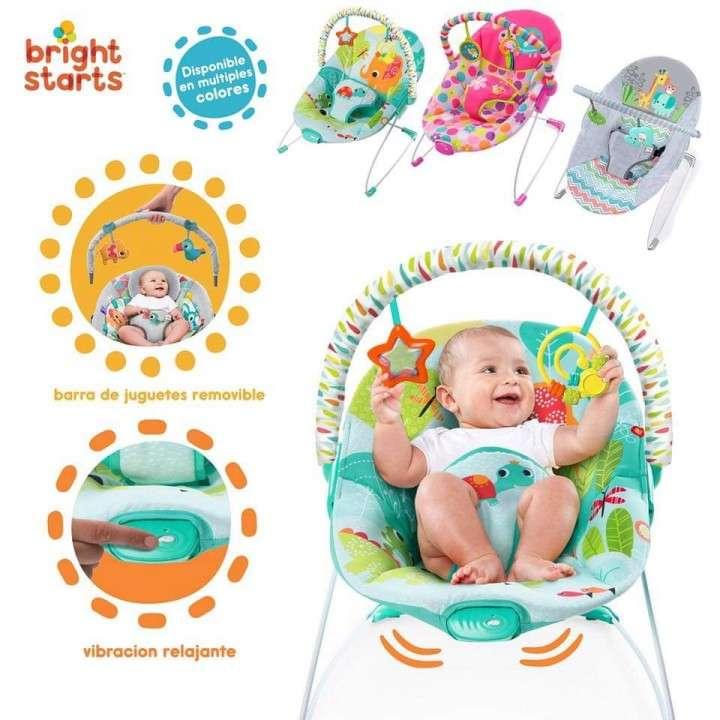 Silla mecedora para bebés de 0 a 18 Kg con vibrador - 0