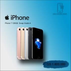 iPhone 7 de 128 gb SWAP grado A