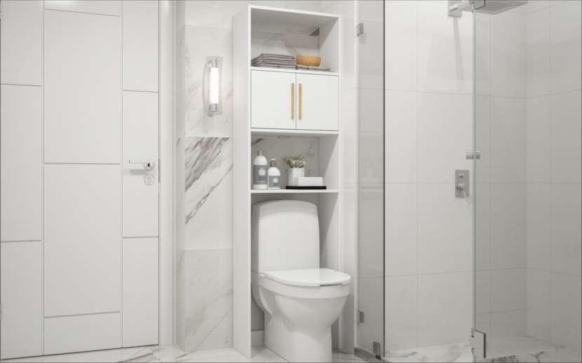 Organizador para baño melamina - 2
