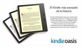 Libro Electrónico Kindle Oasis 7 pulgadas a wifi
