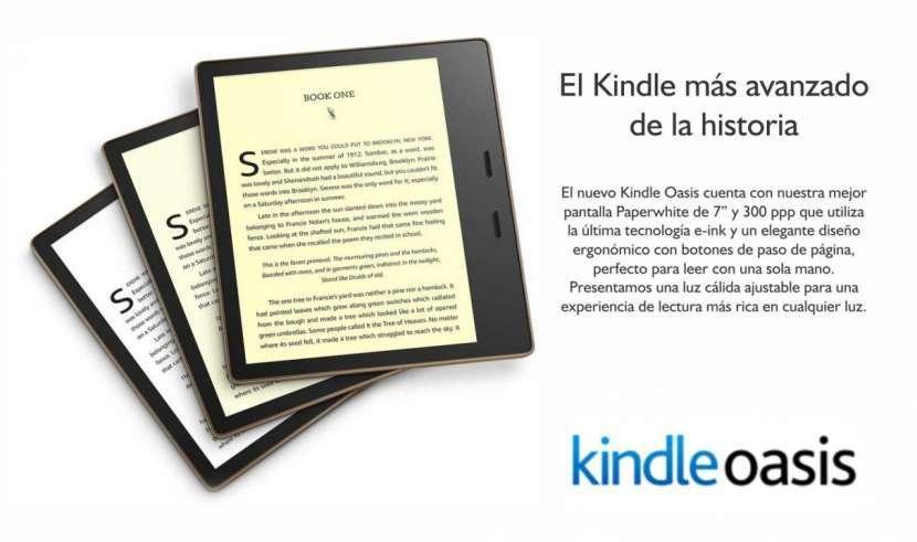 Libro Electrónico Kindle Oasis 7 pulgadas a wifi - 0