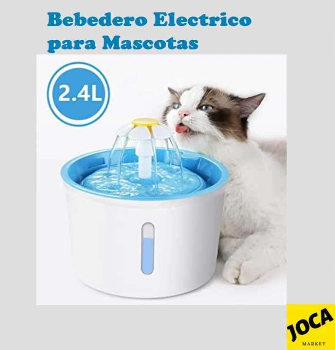 Bebedero eléctrico para perros y gatos - 0