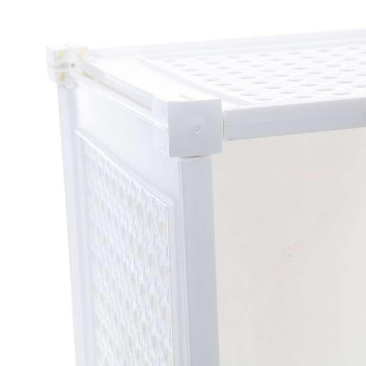 Organizador de 3 cubos plástico - 1