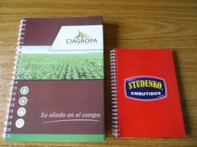 Confeccionamos cuadernos empresariales