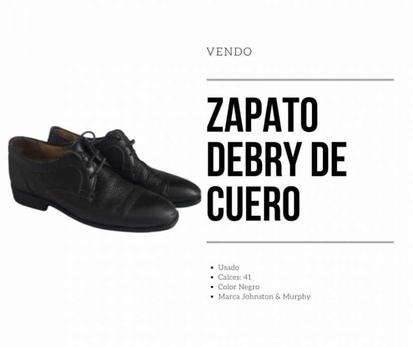 Zapato Derby de cuero para hombre - 0