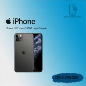 iPhone 11 pro Max 256 gb swap negro