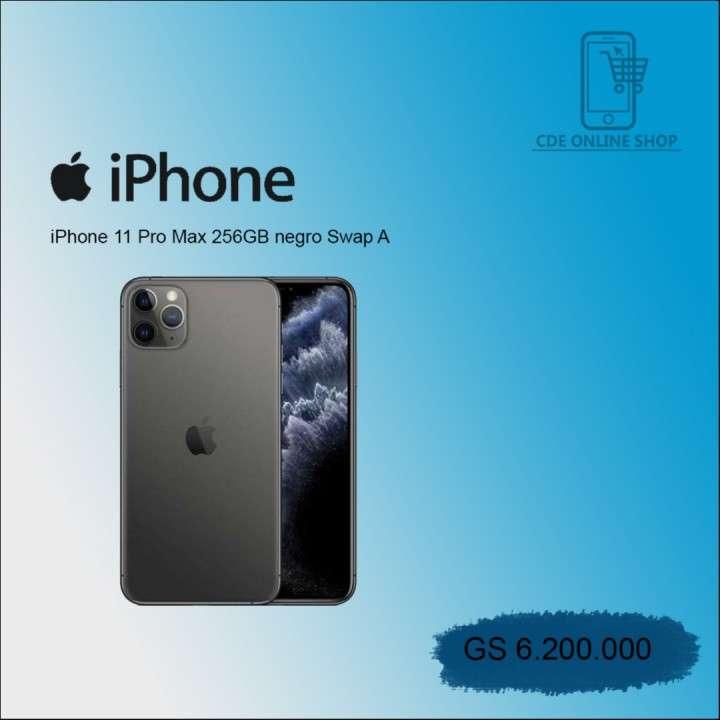 iPhone 11 pro Max 256 gb swap negro - 0