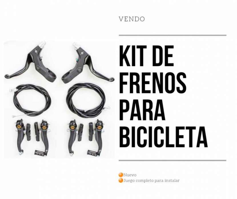 Kit completo de juego de frenos para bicicleta - 0
