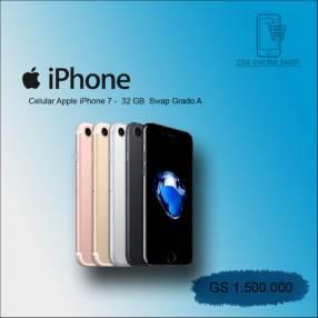 iPhone 7 de 32 gb reacondicionado grado A swap