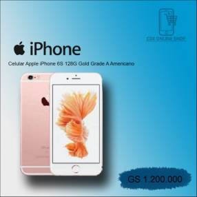 iPhone 6S de 128gb Gold swap grado A