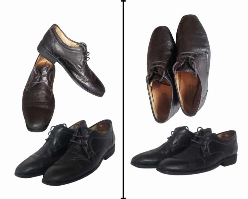 Zapato Derby de cuero para hombre - 1