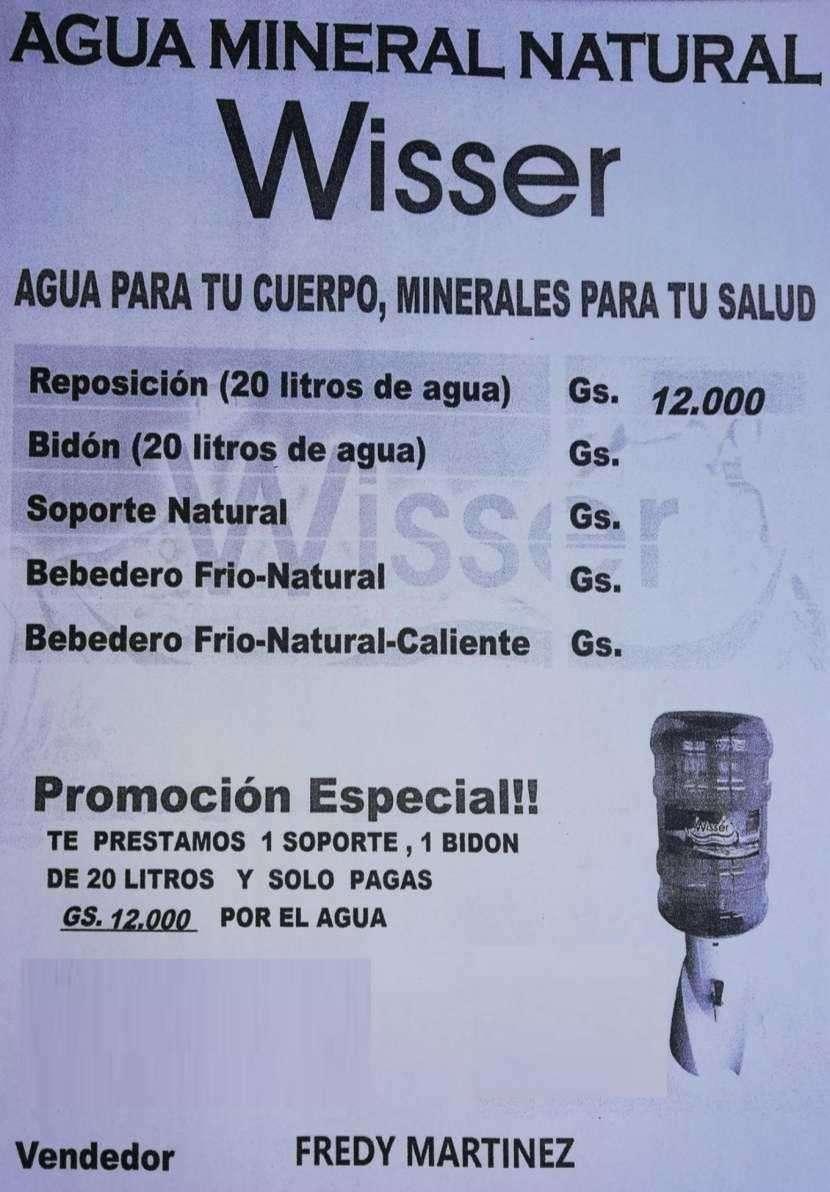 Agua mineral natural Wisser - 0