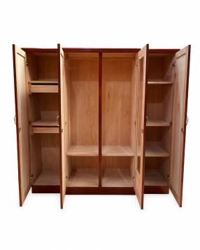 Ropero de madera 4 puertas