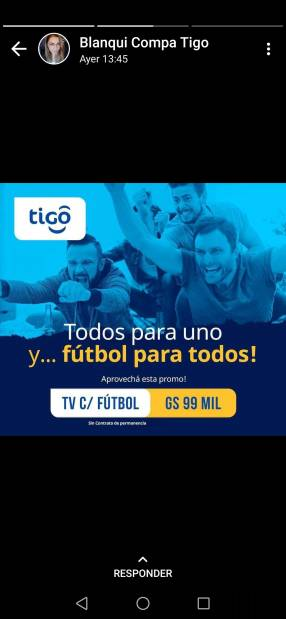 TV cable con tigo sports