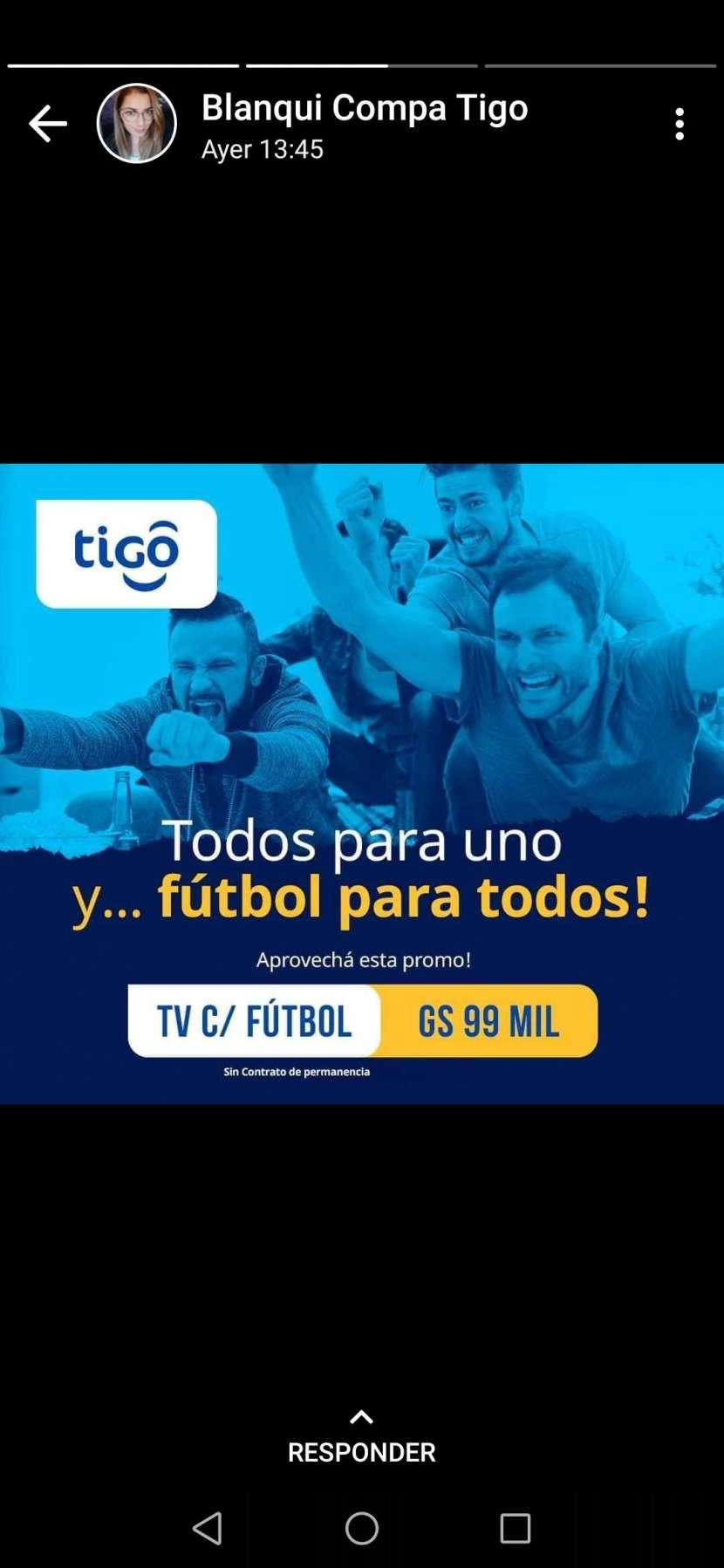 TV cable con tigo sports - 0