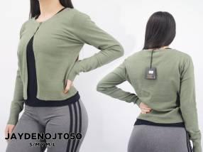 Suéter abierto con botón JAYDENOJT050