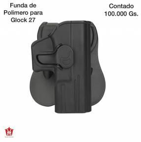 Funda de polímero para pistola glock 27