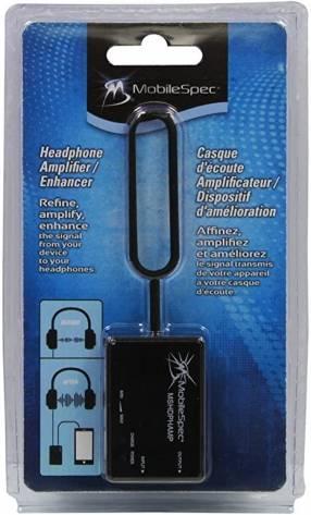 Amplificador recargable para auricular