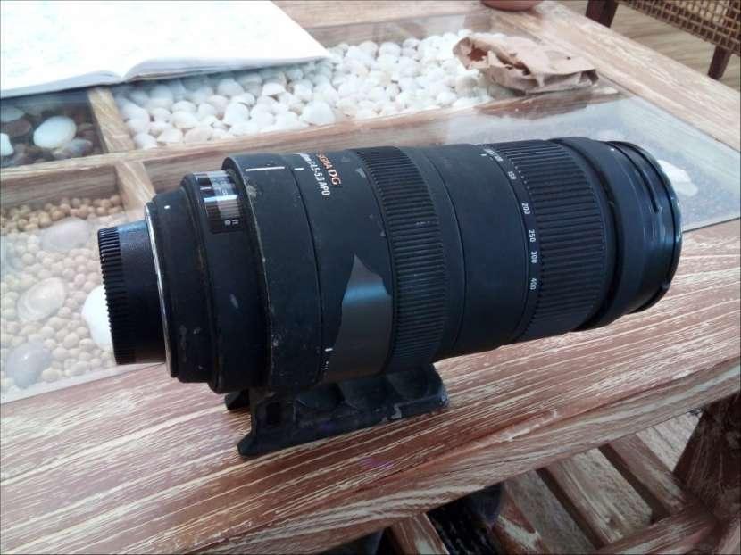 Lente Sigma 120 - 400 1:4 55 Nikon - 1
