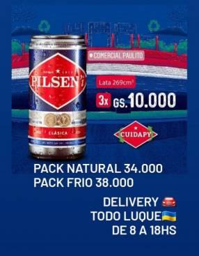 Pack Pilsen tubito 269 ml