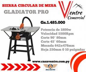 Sierra circular de mesa Gladiator Pro
