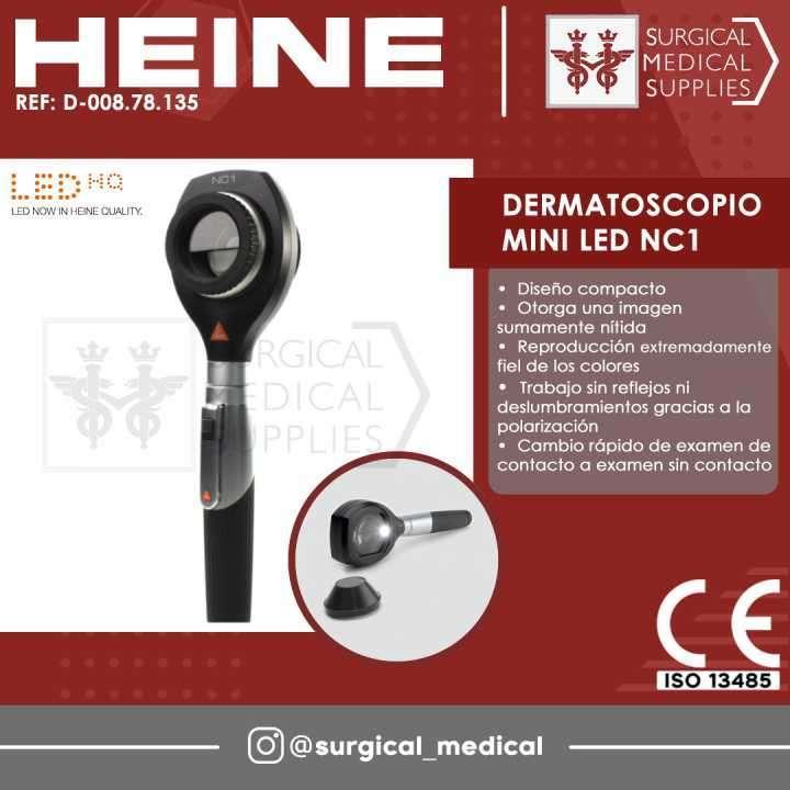 Dermatoscopio Mini LED NC1 - 0